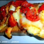 Crostone alla pizzaiola