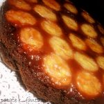 Torta rovesciata banane, cioccolato e rum