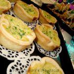 Tortine zucchine e gorgonzola