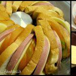 Corona di pane farcita