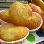 Muffins mele e banane