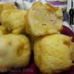 Pasta e fagioli fritta
