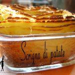 Scrigno di patate con funghi, scamorza e besciamella