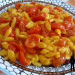 Spatzle pomodorini e pecorino
