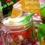 Insalata Java con salsa all'aglio