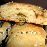 Stecche di pane con zucchine