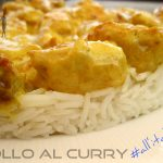 Pollo al curry all'italiana