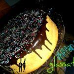 Chiffon cake glassato