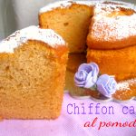 Chiffon cake al pomodoro