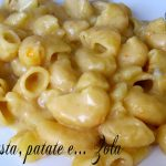 Pasta patate e gorgonzola