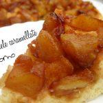 Torta di mele caramellate senza forno