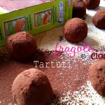 Tartufi fragole e cioccolato