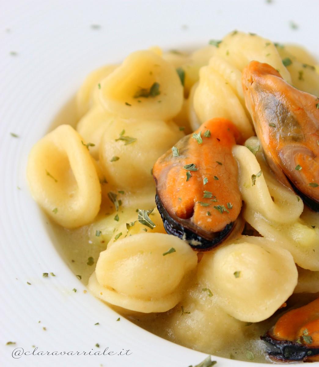 Pasta cozze e patate