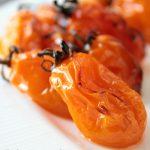Pomodorini gialli al forno, accompagnamento perfetto al pesce