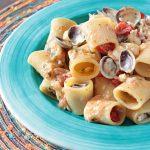 Paccheri con scorfano e lupini, il sapore del mare nel piatto!