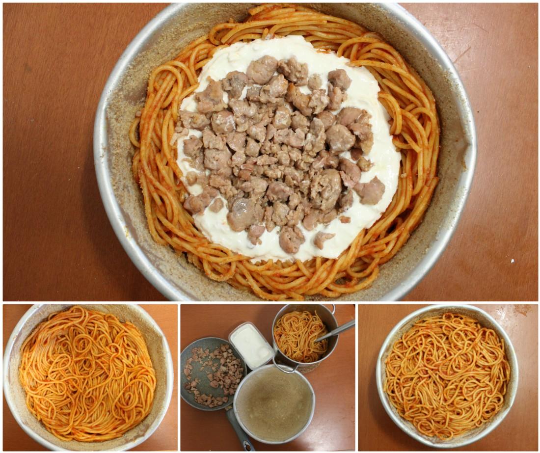 come fare uno zuccotto di pasta