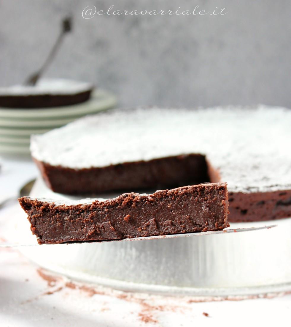 torta di ricotta e cioccolato senza lievito