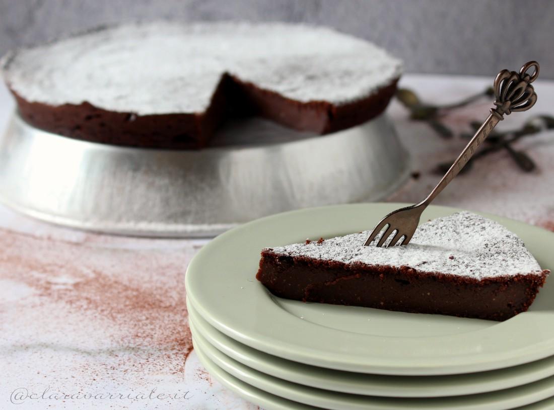 torta con ricotta al cioccolato