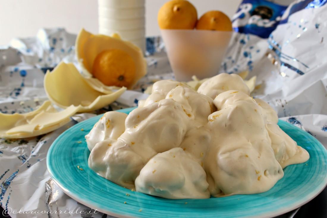 bignè al limone